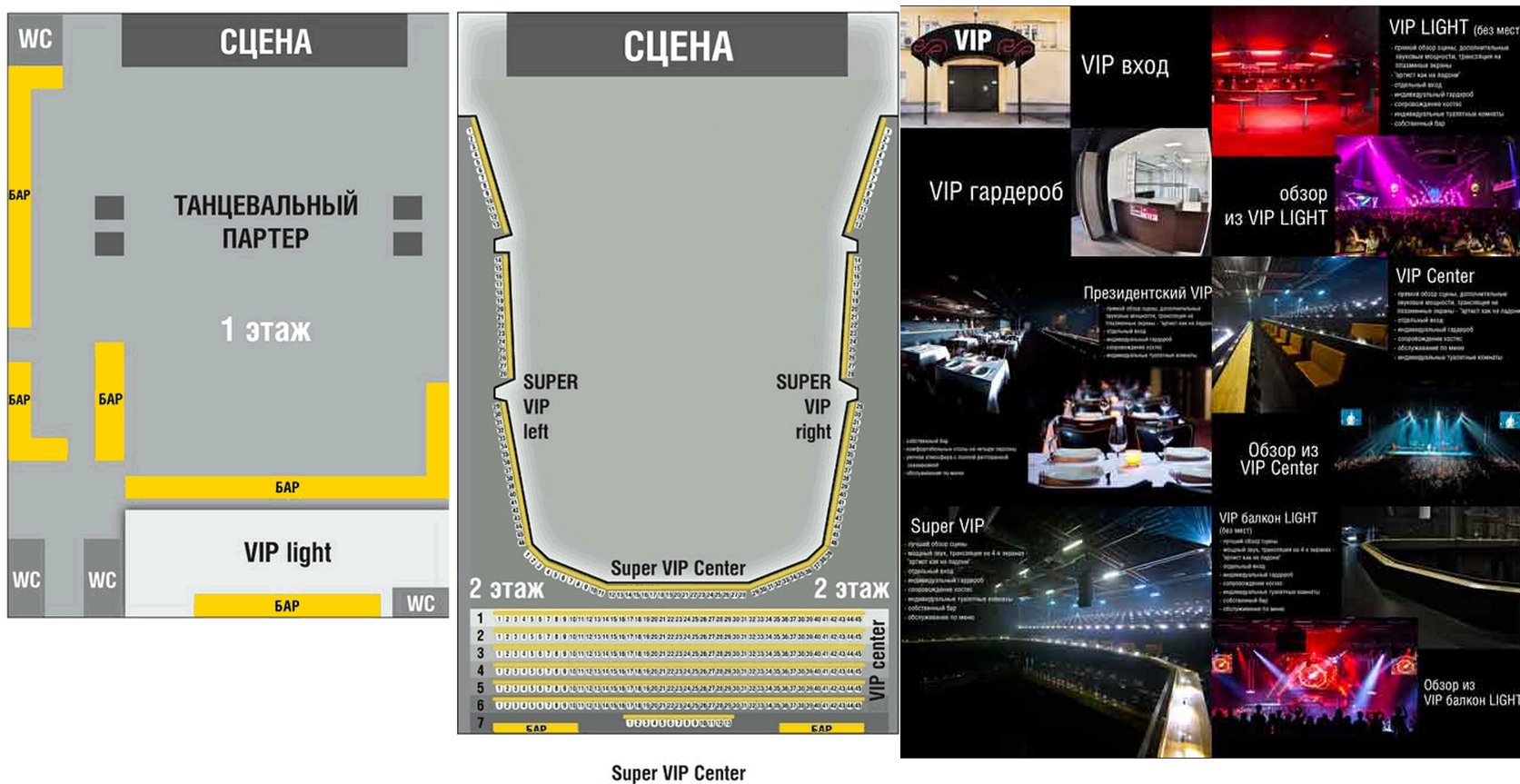 Схема Stadium Live (Стадиум Лайв)
