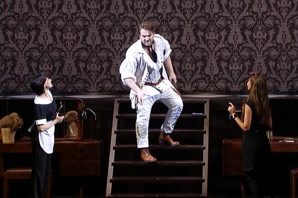 опера Севильский цирюльник